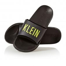 Calvin Klein Black/Yellow šlepetės