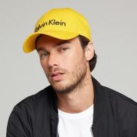 Calvin Klein Yellow kepurė su snapeliu