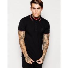 Diesel Black Polo marškinėliai