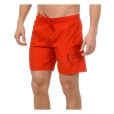 Diesel Red Long vyriški maudymosi šortai