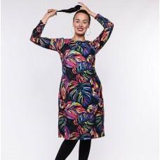 Suknelė margi lapai