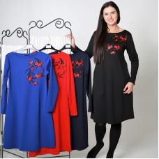 Suknelė su aplikacija