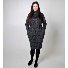 Suknelė BOM01 raštuota