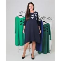 Stilinga suknelė su 5 drugeliais