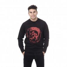 Diesel megztinis Black/Red