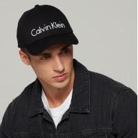 Calvin Klein Black kepurė su snapeliu