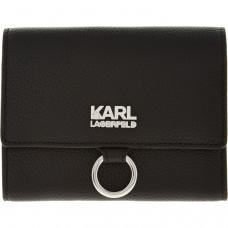 Karl Lagerfeld odinė moteriška piniginė