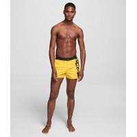 Karl Lagerfeld yellow šortai