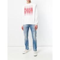 Diesel White vyriškas džemperis