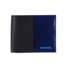 Diesel Black/Blue odinė piniginė